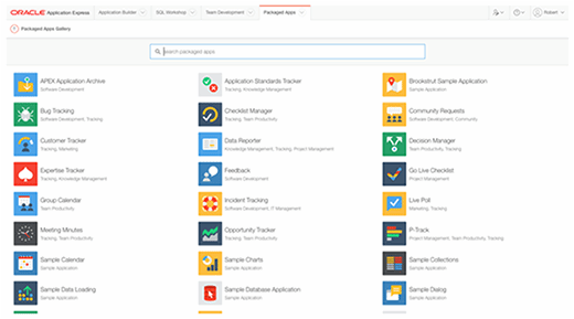 Apex Packaged Apps Gallery
