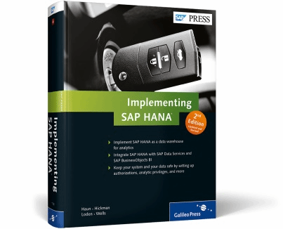 Cover for  Implementing SAP HANA