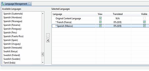 Add languages