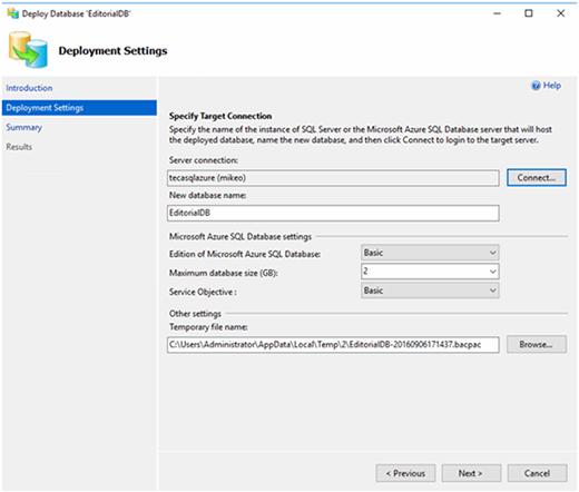 sSQLServer Figure7 092716 mobile Migrating SQL Server to Microsoft Azure SQL Database as a service