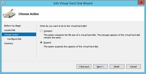 Edit Virtual Hard Disk Wizard