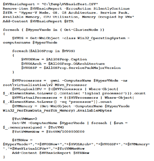 Ausführung von Get-ClusterNode.
