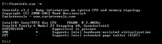 Processor logical information