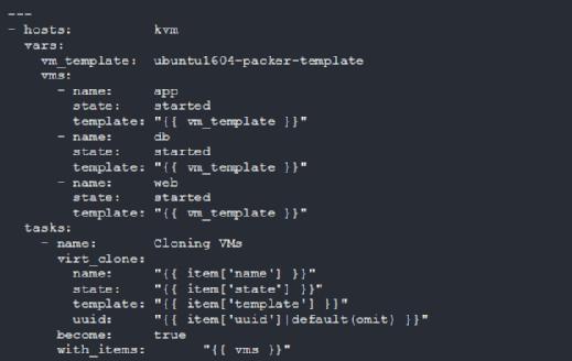 VM cloning module