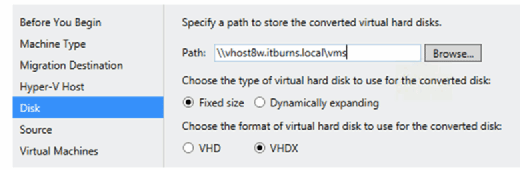 Steps for a successful VMware to Hyper-V migration
