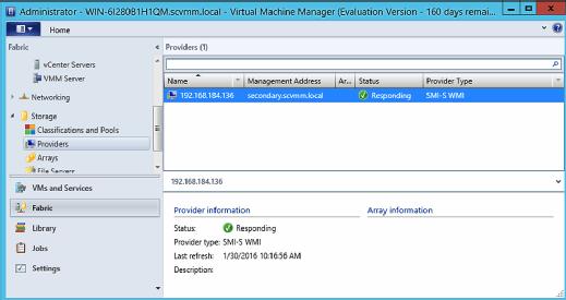 Verifying iSCSI Target Server