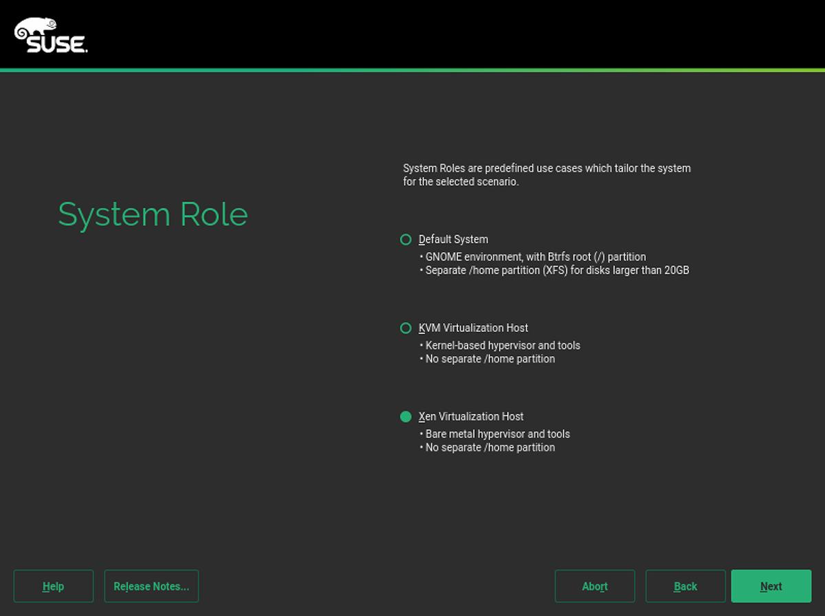 Run your Xen VMs on the SUSE Linux Enterprise Server