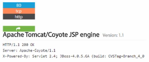 Shodan JBoss search result