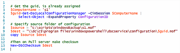 Rename and move the configuration file