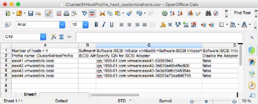 Customize host settings.