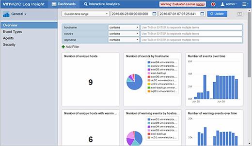 Customize your Log Insight dashboard