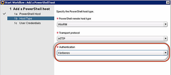 Add the PowerShell host