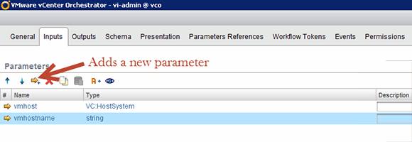 Add input parameters