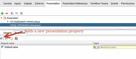 Add presentation properties