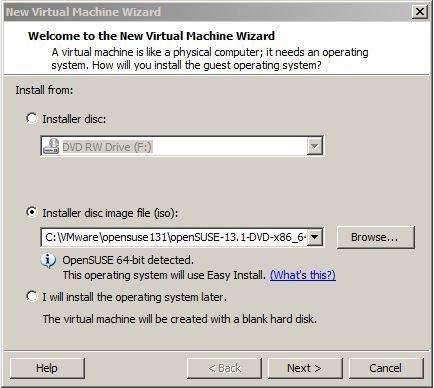Running Ubuntu VM