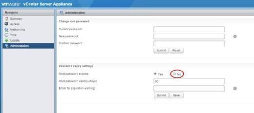 Edit password expiry settings.