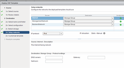 VMware Access Point server networks