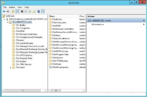 Remove Exchange Server using ADSI Edit - MS Expert Talk