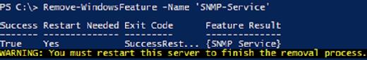 Remove-WindowsFeature cmdlet