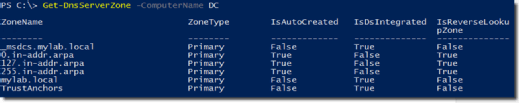 Use PowerShell for help with DNS server management