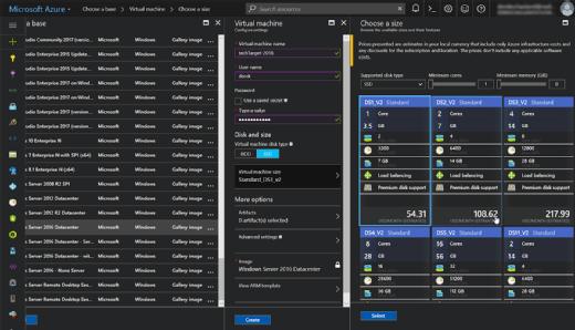 Configure the lab VM