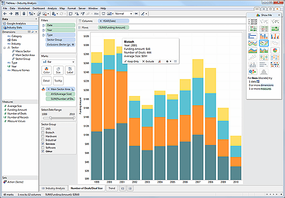 Tableau Software screenshot