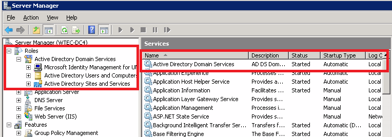 Figure 2. In Windows Server 2008, AD was moved into a service, which meant ADDS needed to be installed before running DCPromo.