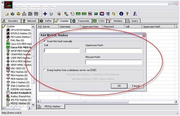 sdf database password crack