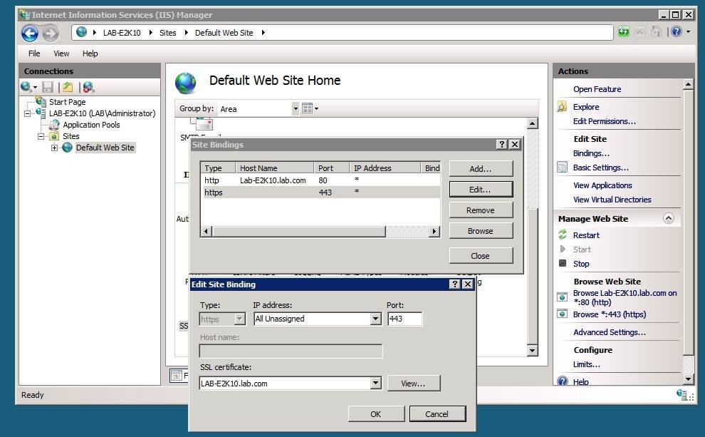 Microft Exchange Server Activesync Zertifikat Fehler Beseitigen