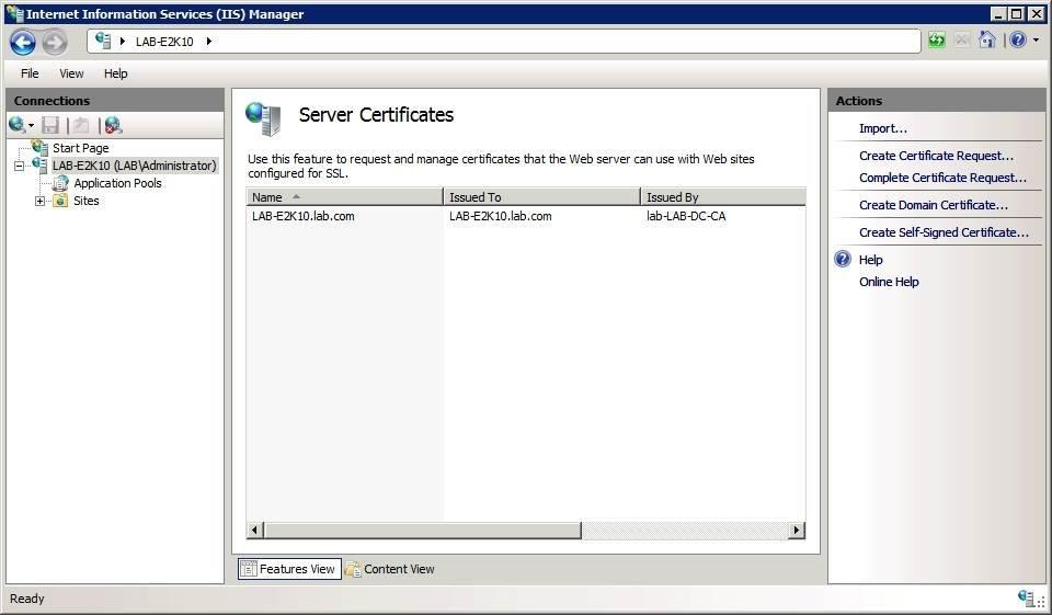 Identify Exchange Server 2010 Activesync Certificate Errors