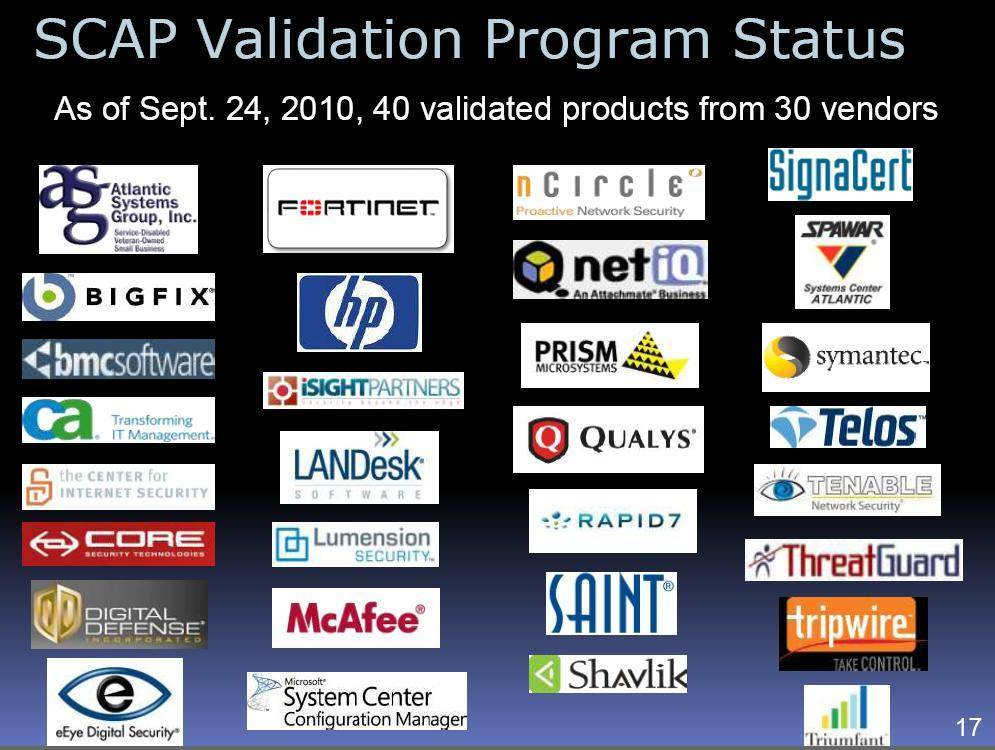 Understanding SCAP NIST guidance and using SCAP tools to