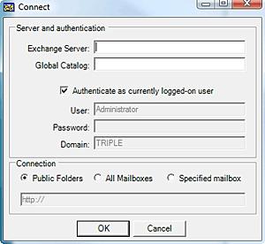 Select the Public Folder option