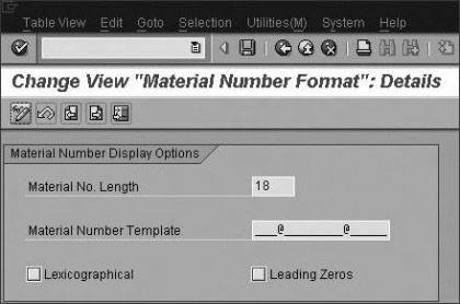 Template for Internally Assigned Material Number