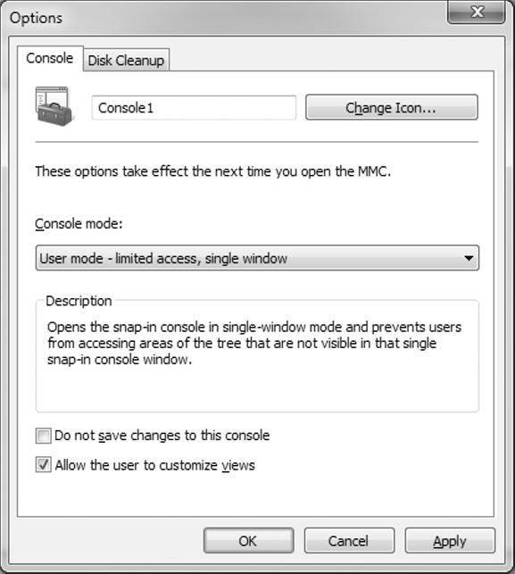 MMC console management: Adding Windows 7 snap-ins