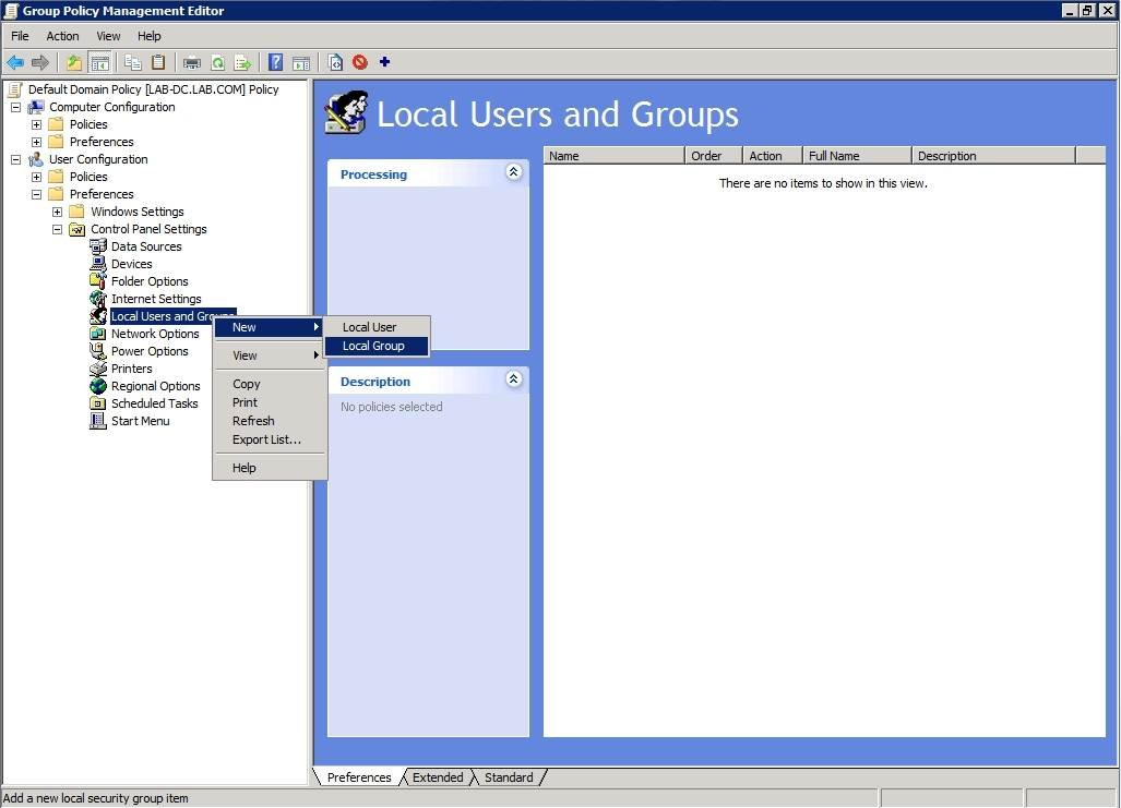 Using Group Policy settings to secure local admin groups on your