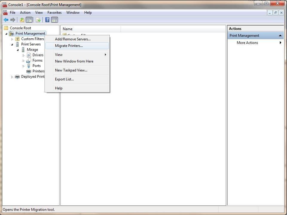Printer backup and recovery tips