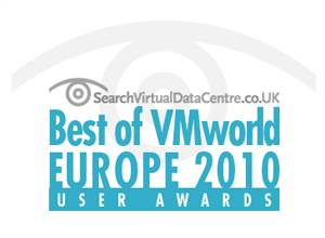 Best of VMworld Europe 2010 User Awards
