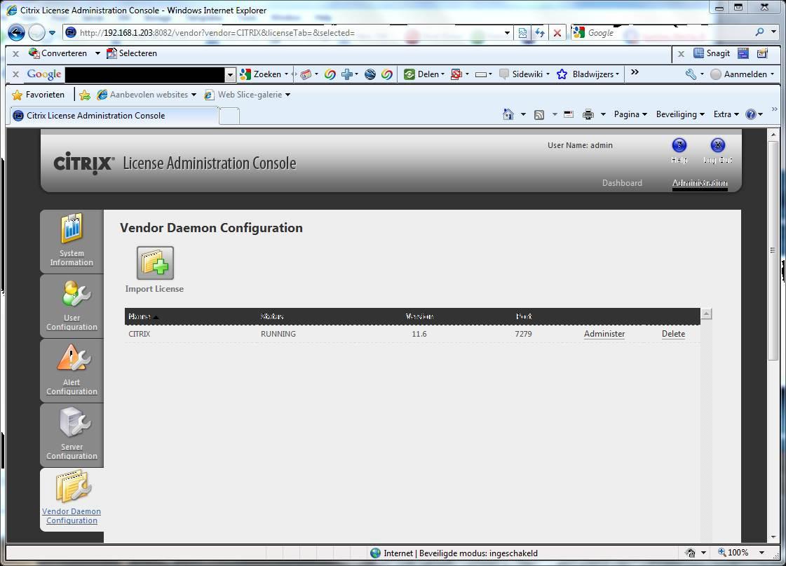 Using Citrix Xen Server Platinum trial software