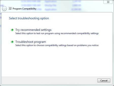 Common application compatibility issues for Windows 7