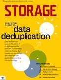 data dedupe and backup image