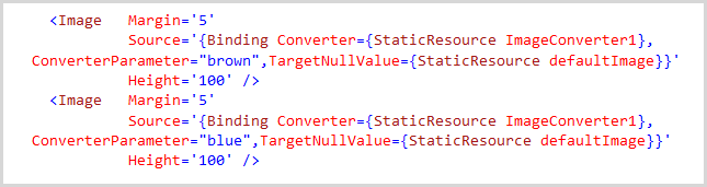 Setting defaults for null values in data sources in WPF