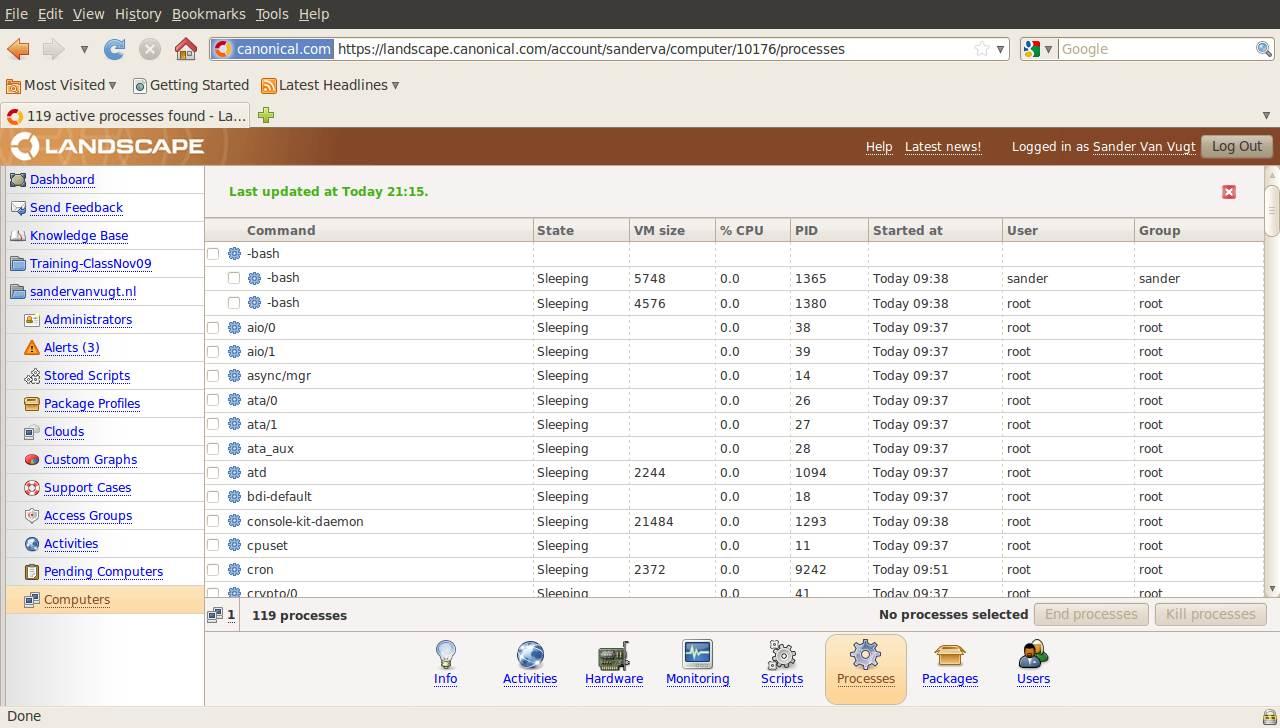 Enterprise Ubuntu Linux server monitoring and management made easy