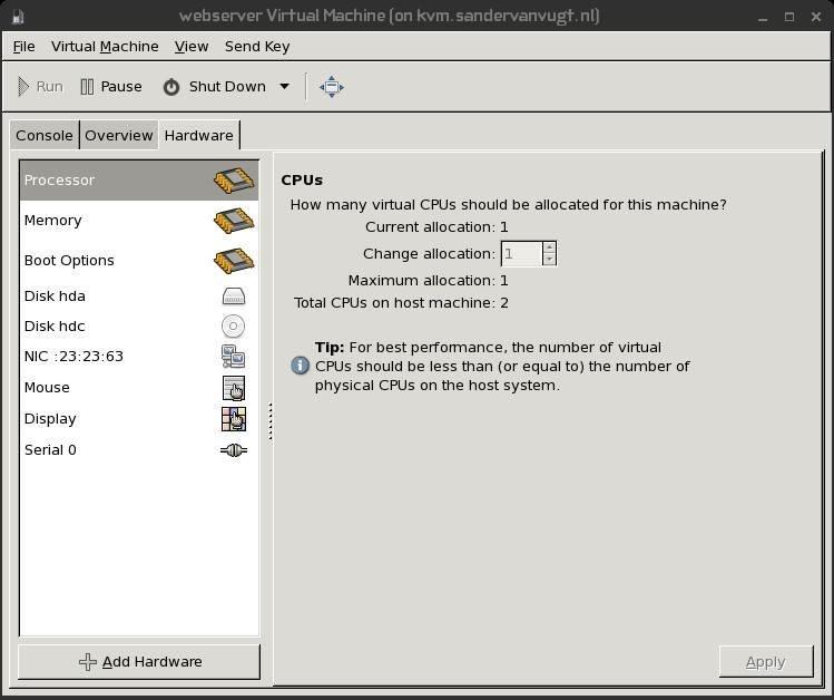 Red Hat Enterprise Linux virtualization architecture