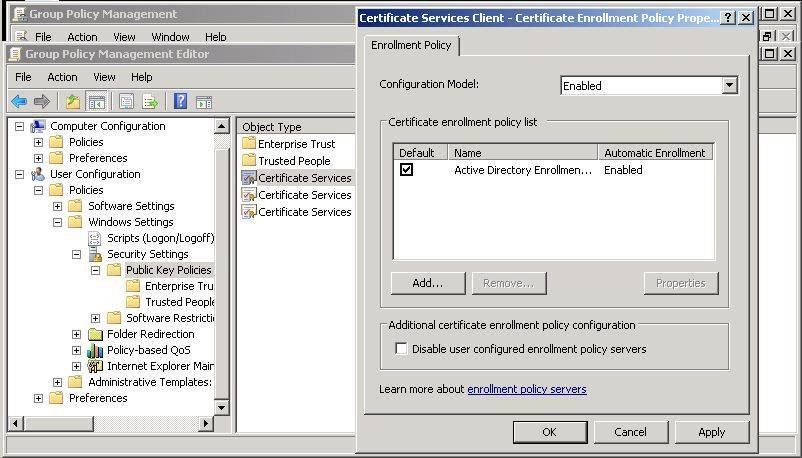 Built in security tools help defend exchange server 2010 group policy object for distributing certificates in exchange 2010 yelopaper Gallery