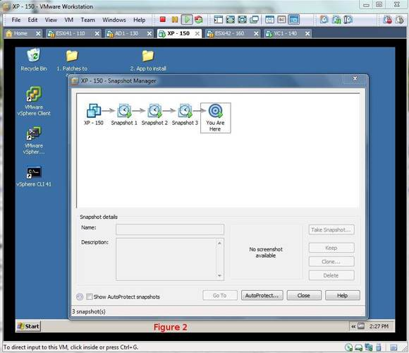 VMware snapshots in Workstation: Turn back the hands of time