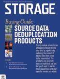Source deduplication cover