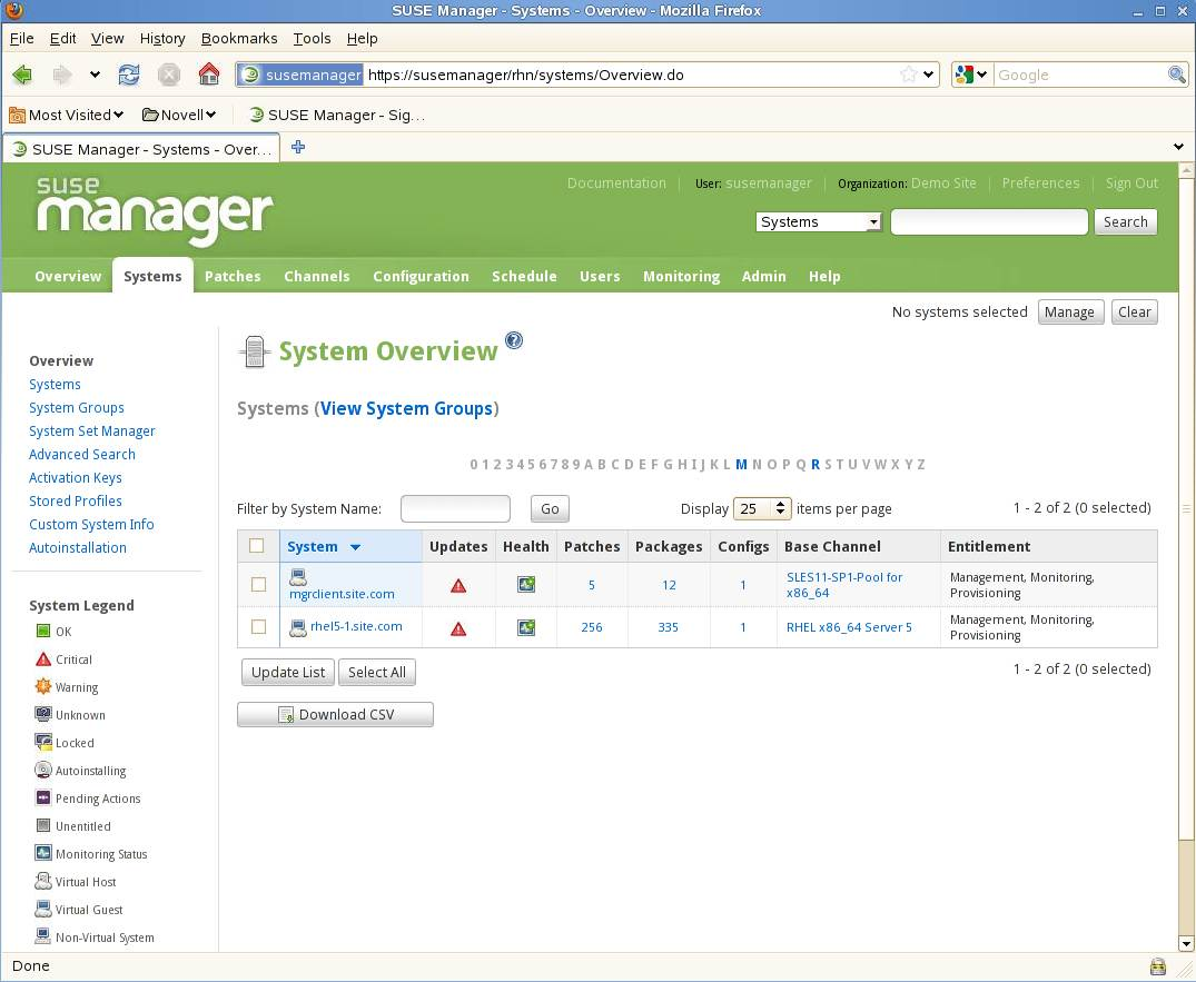 How to use suse manager for multiplatform linux server administration maxwellsz
