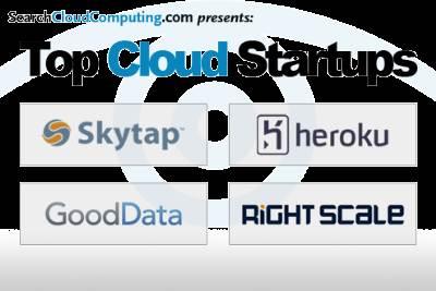 Cloud computing startups