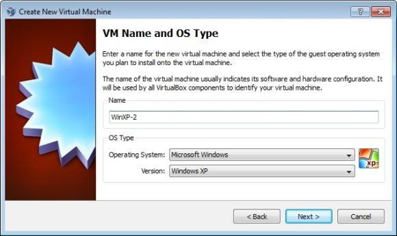Creating virtual machines with Oracle VM VirtualBox 4