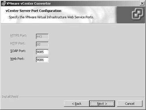 VCenter Server installation steps and components